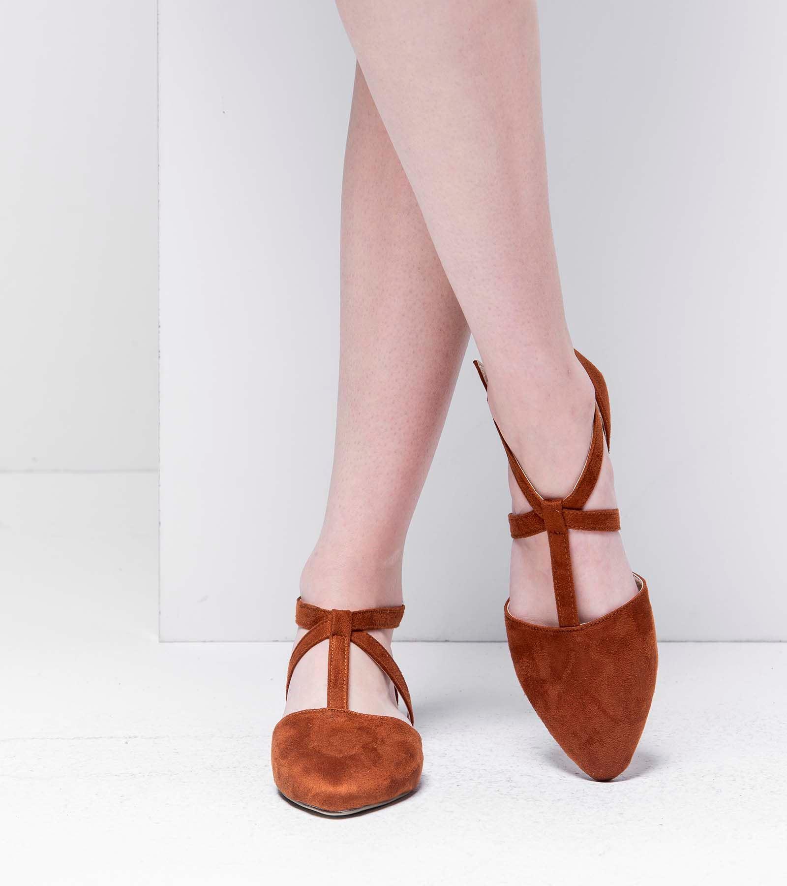 Marjan Günlük Süet Ayakkabı Taba