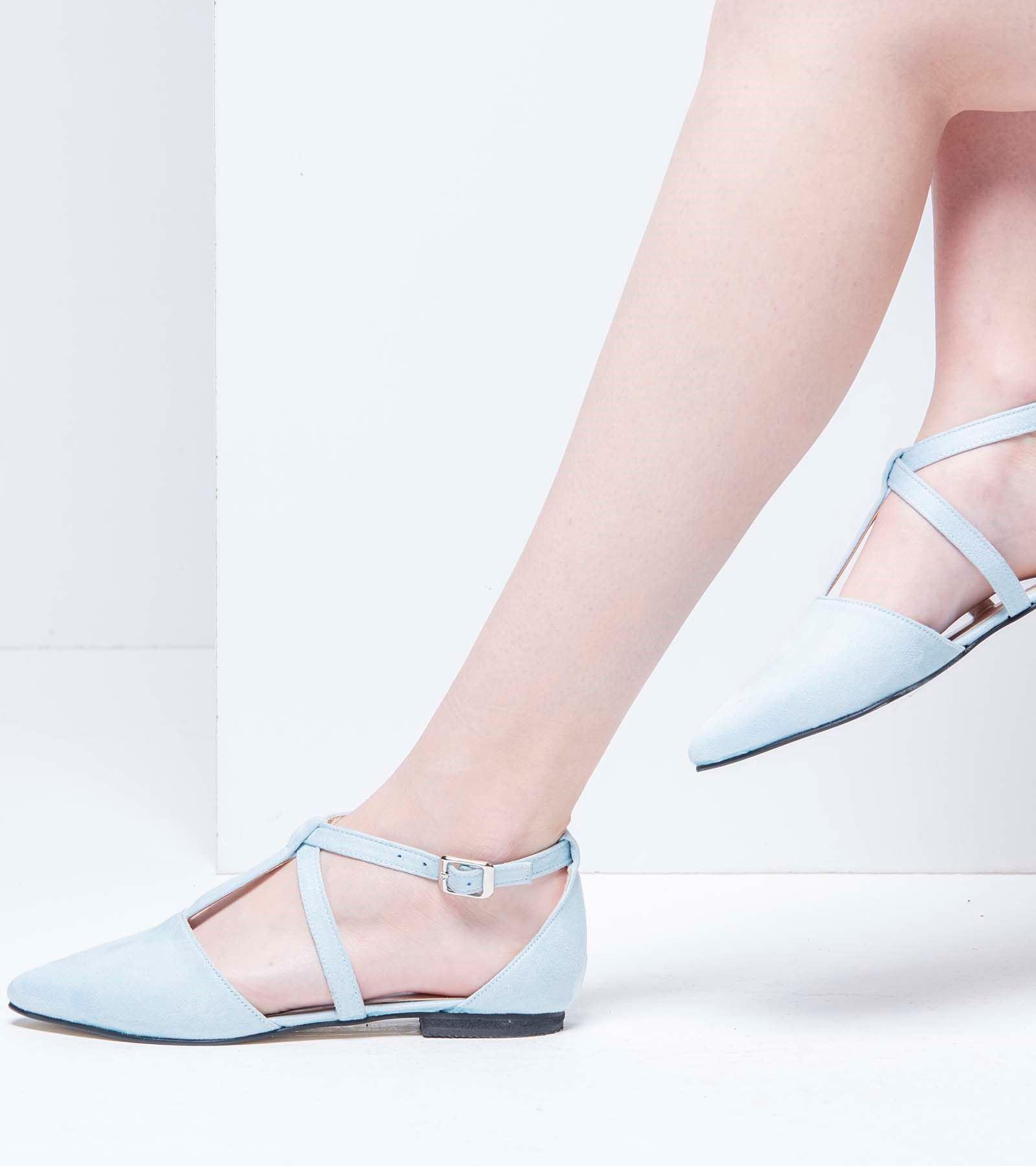 Marjan Günlük Süet Ayakkabı Bebe Mavisi