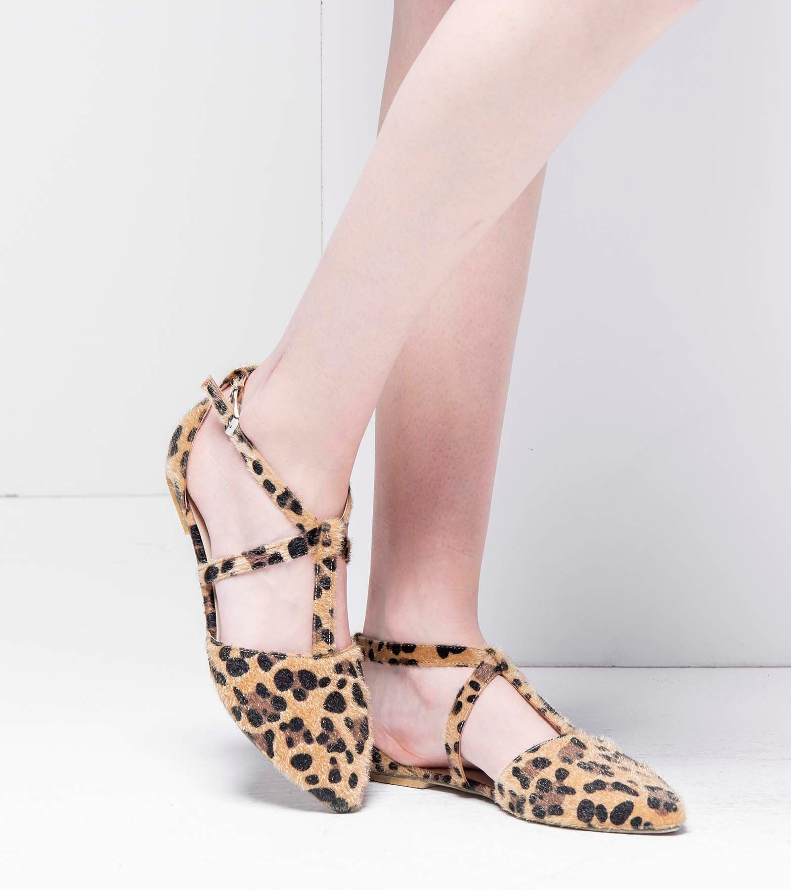 Marjan Günlük Süet Ayakkabı Leopar
