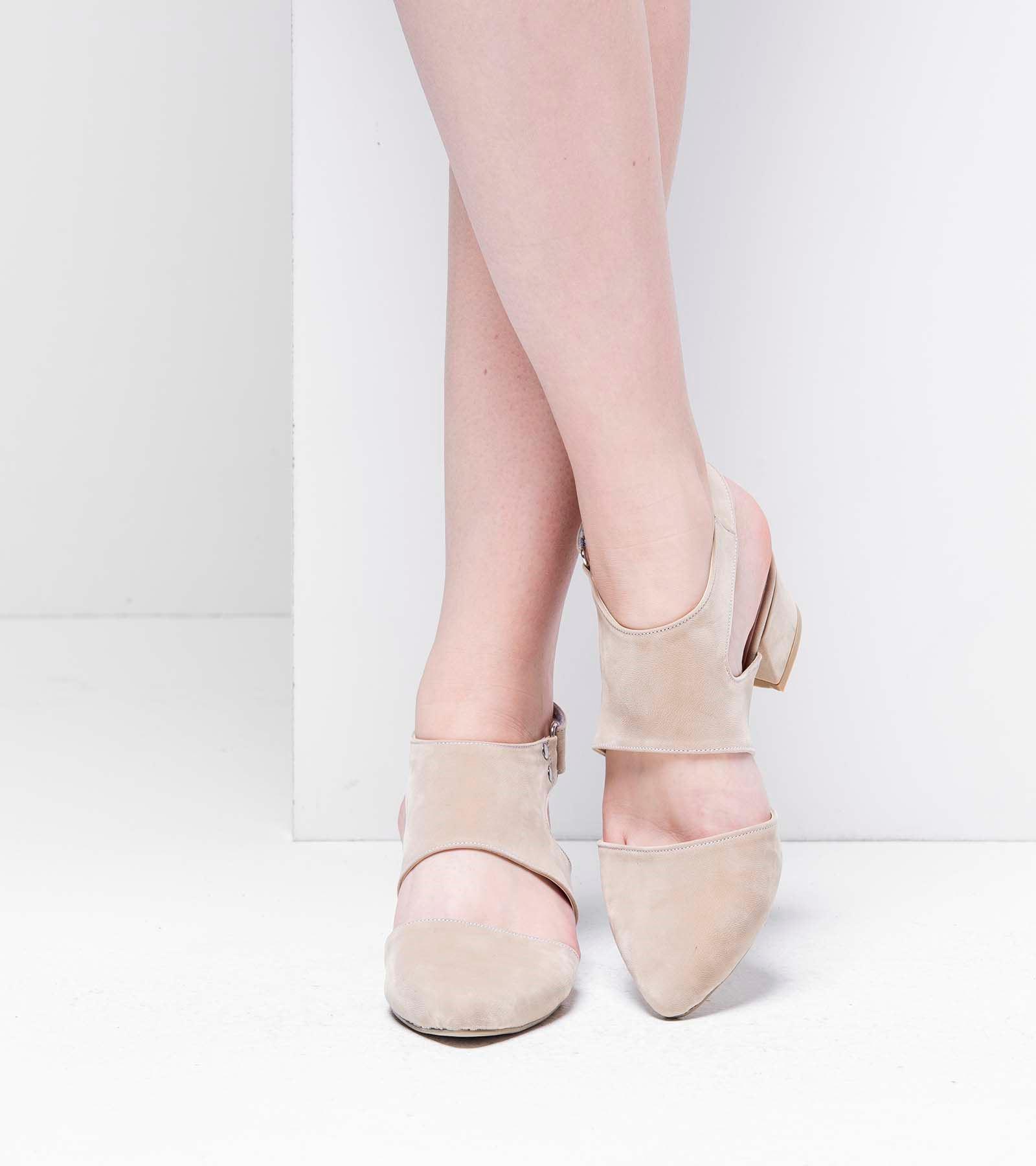 Emily  Topuklu Ayakkabı Ten