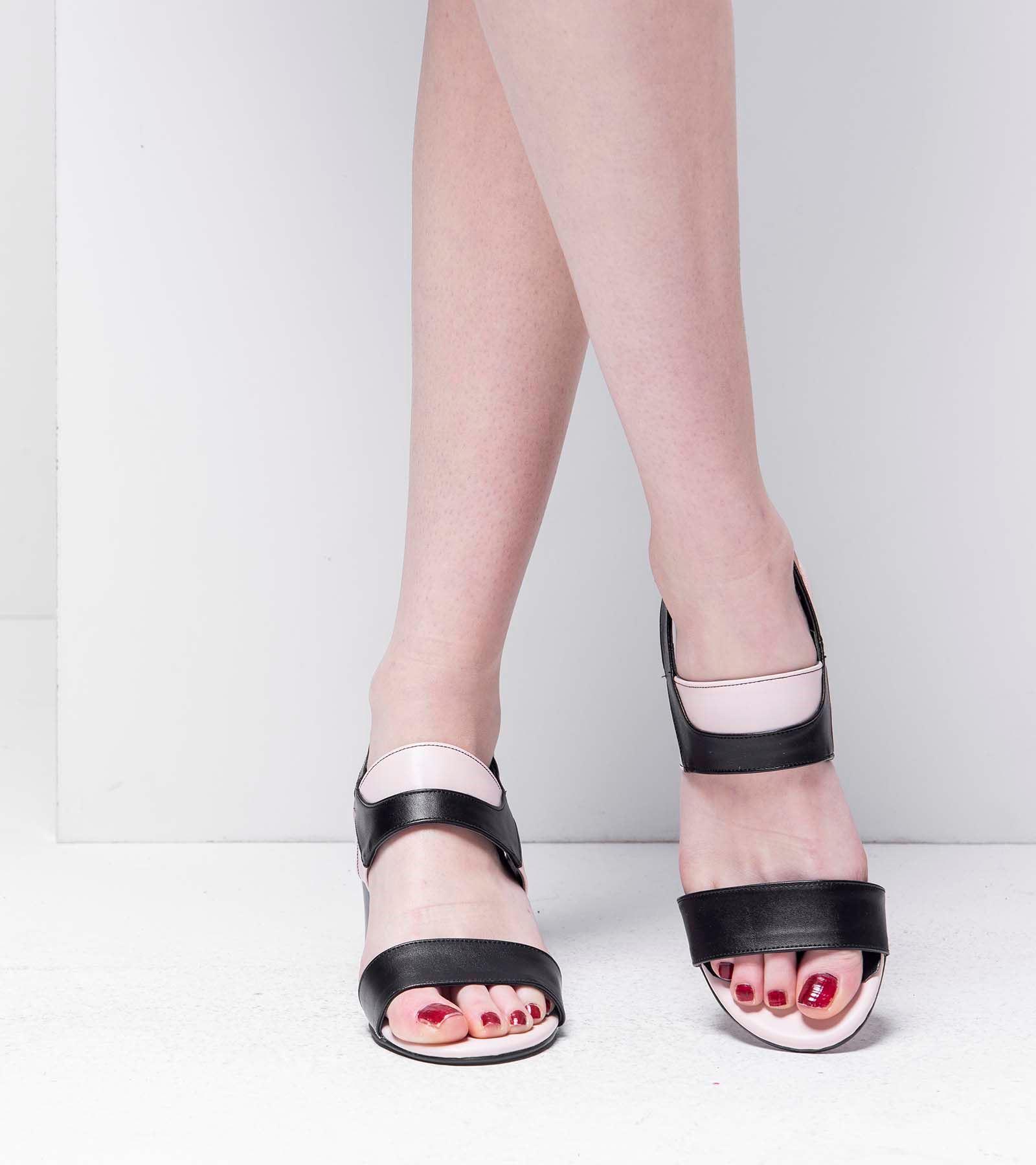 Perla Topluklu Cilt Ayakkabı Siyah Ten