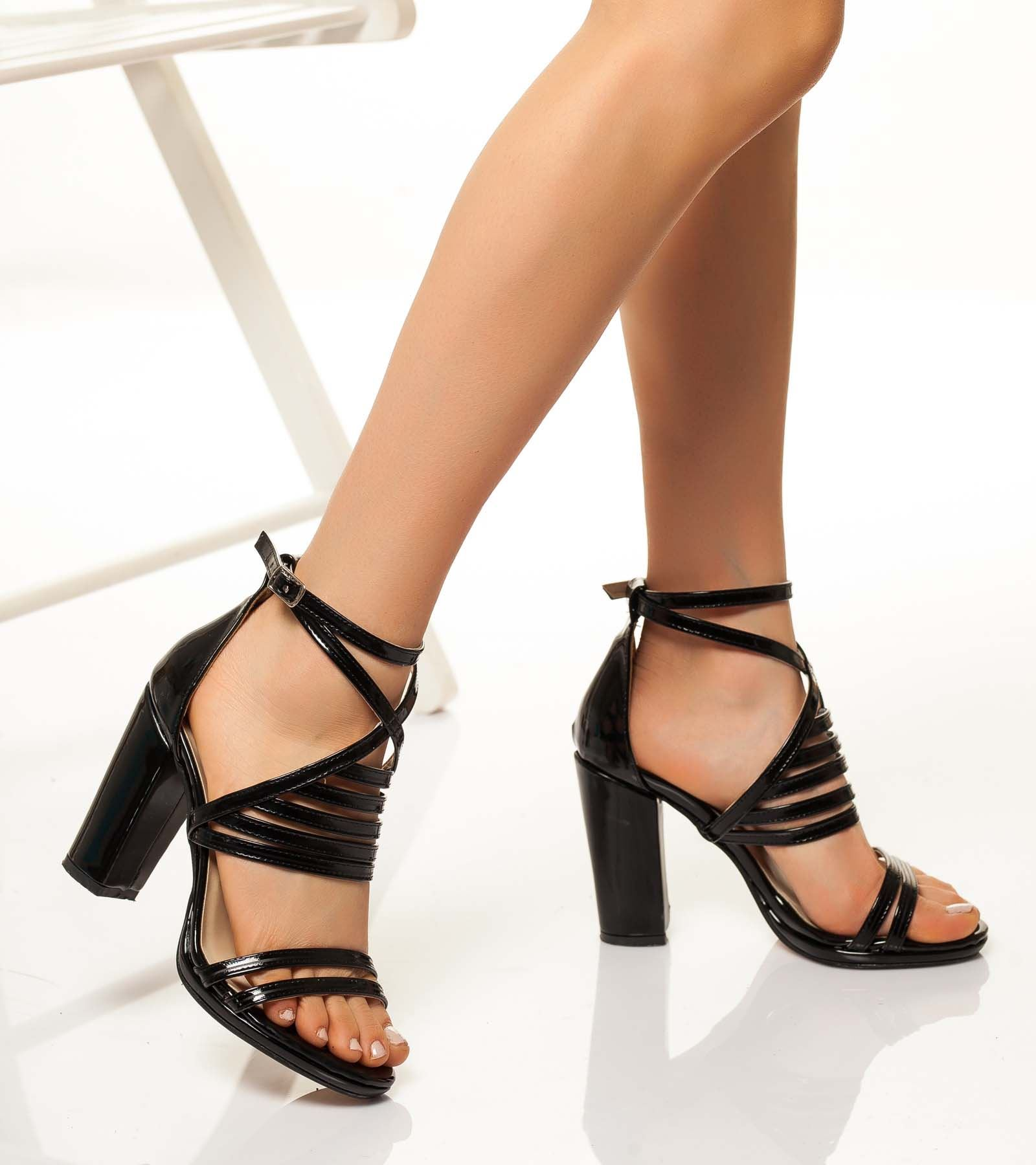 Berit  Rugan Ayakkabı Siyah
