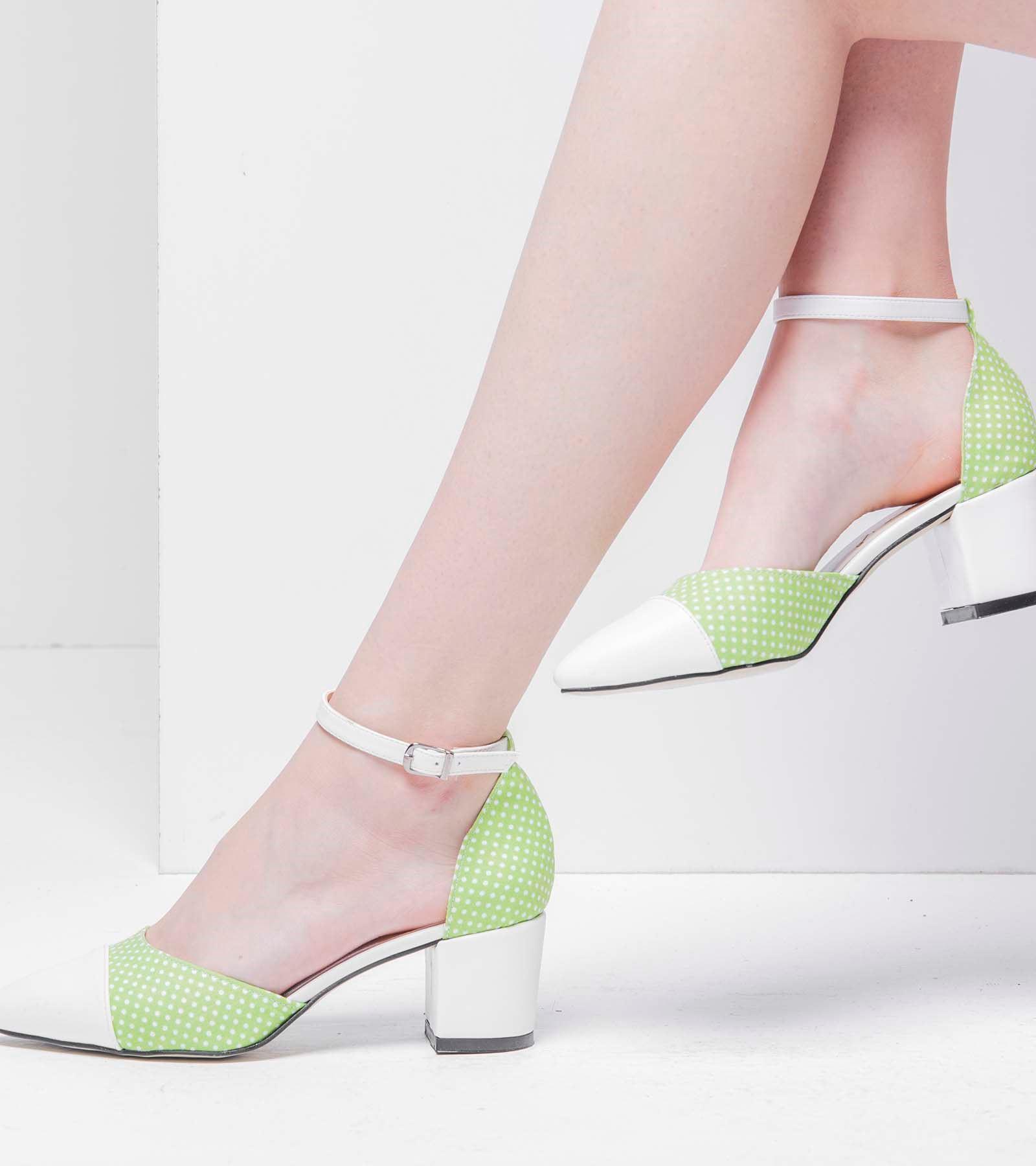 Blusa Cilt Ayakkabı Yeşil