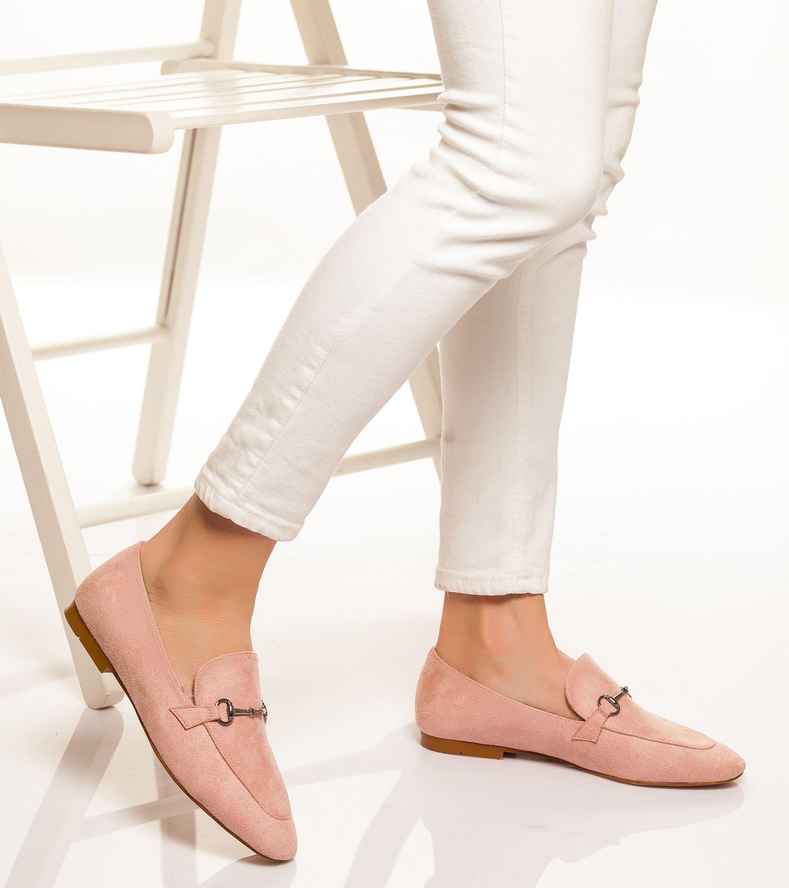 Alberta Süet Ayakkabı Pudra