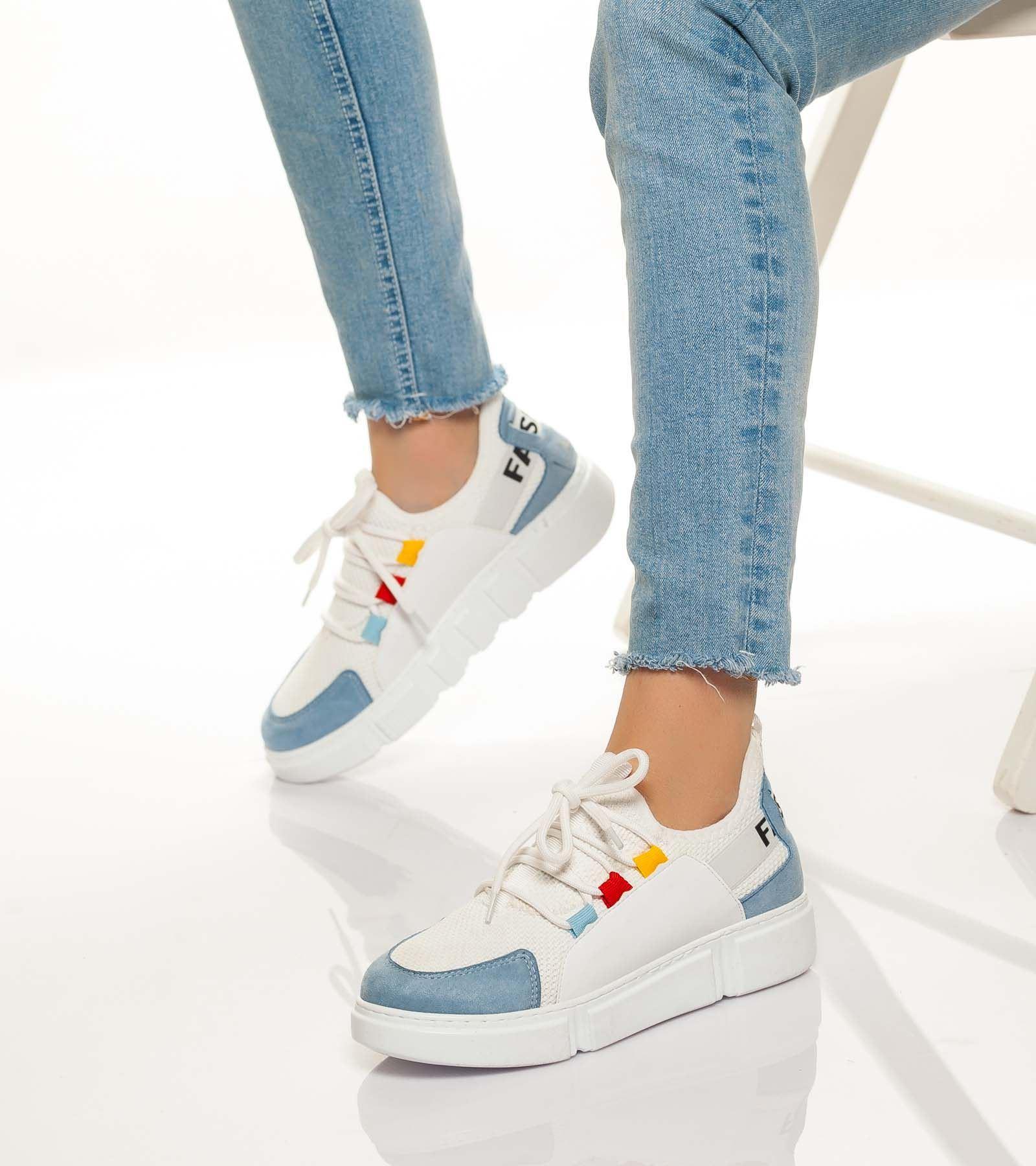 Alonsa Günlük Spor Ayakkabı Buz Mavisi