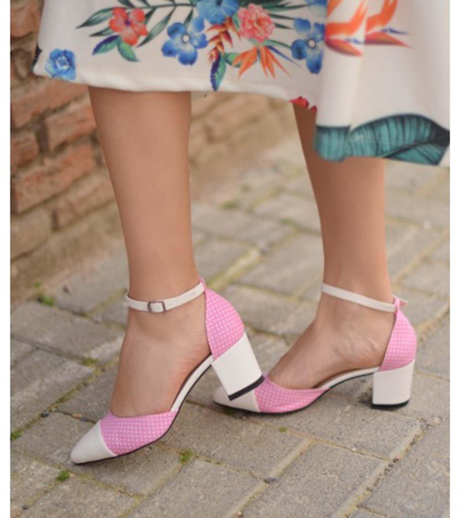 Blusa Cilt Ayakkabı Pembe