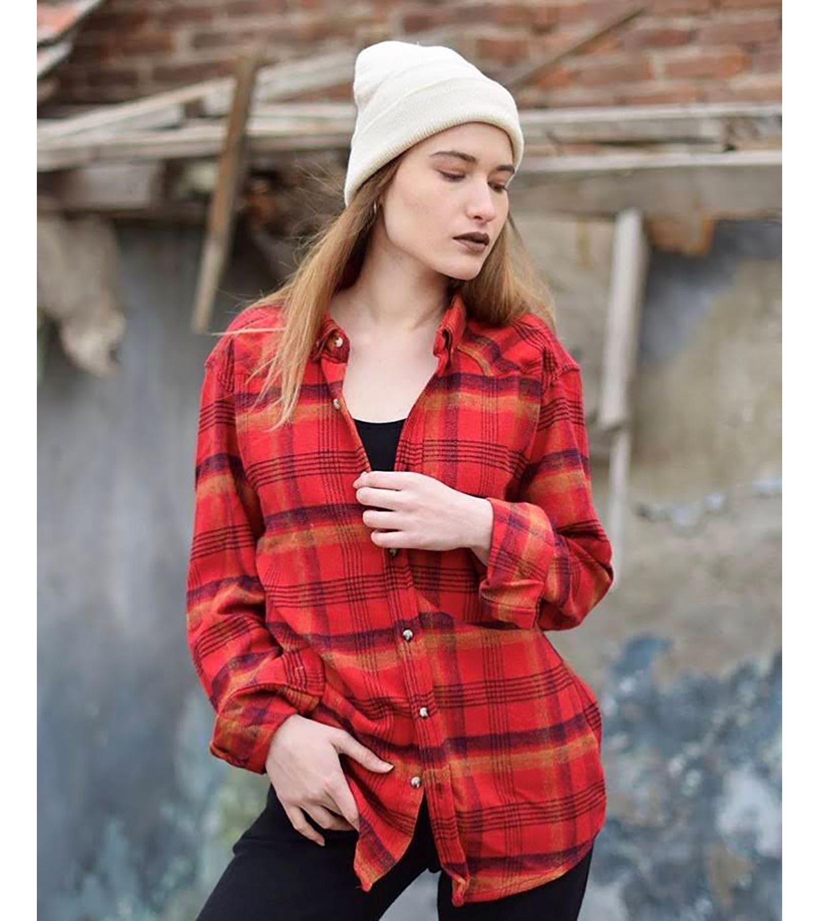 Oduncu Gömleği Kırmızı