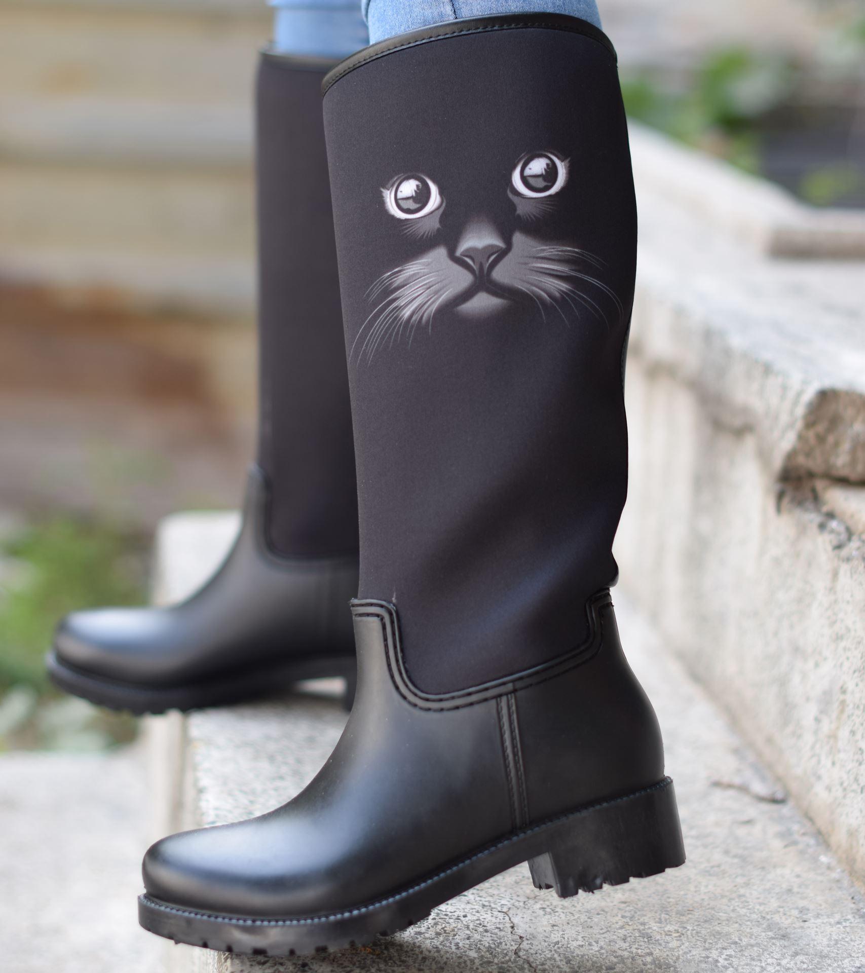 Arbel Yağmur Çizmesi Kedi
