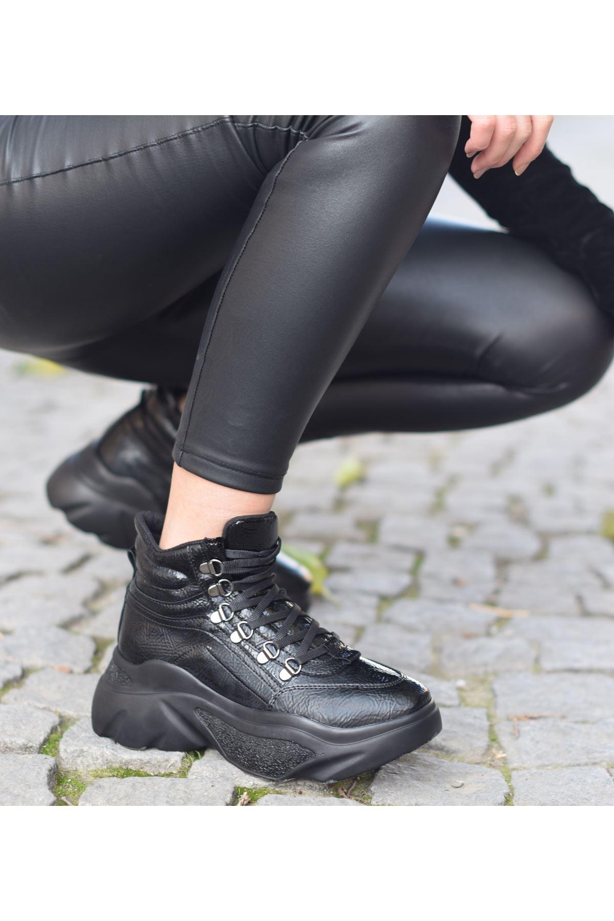 Gardi Sneakers Bot Siyah