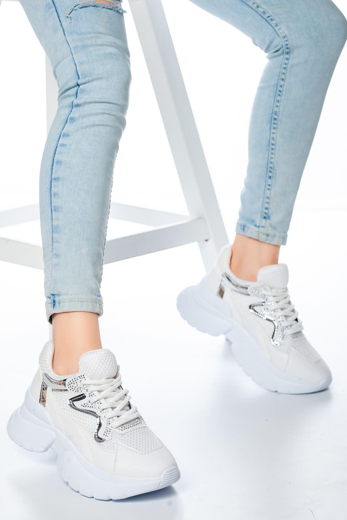 Wesley Fileli  Sneakers Beyaz