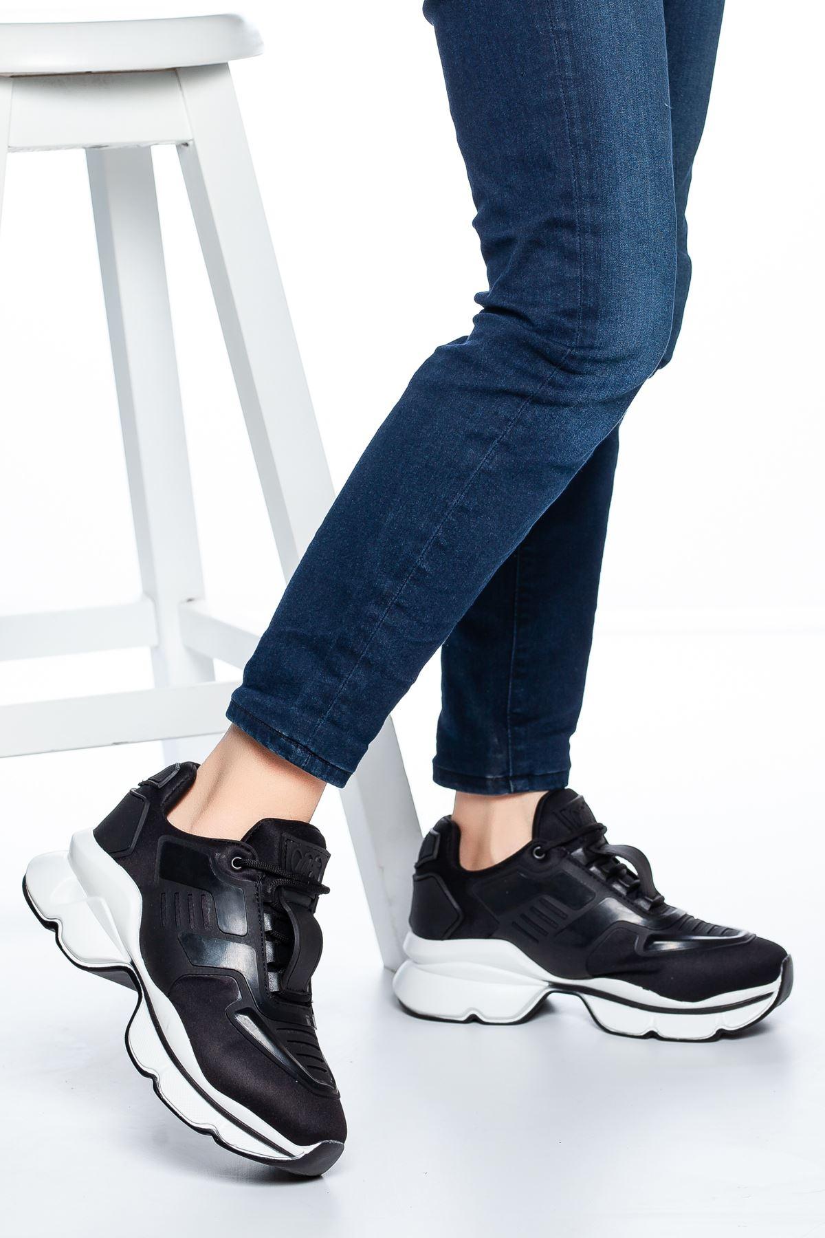 Sandor Şerit Detaylı Sneakers Siyah
