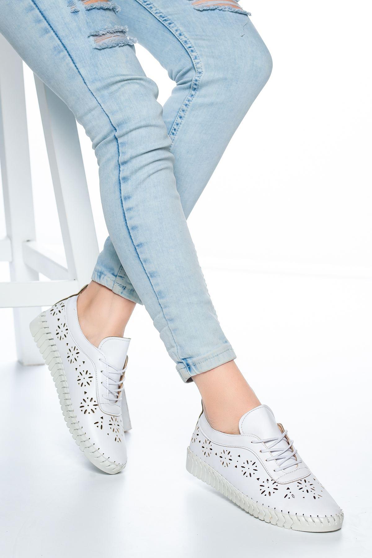 Desra Günlük Ayakkabı Beyaz