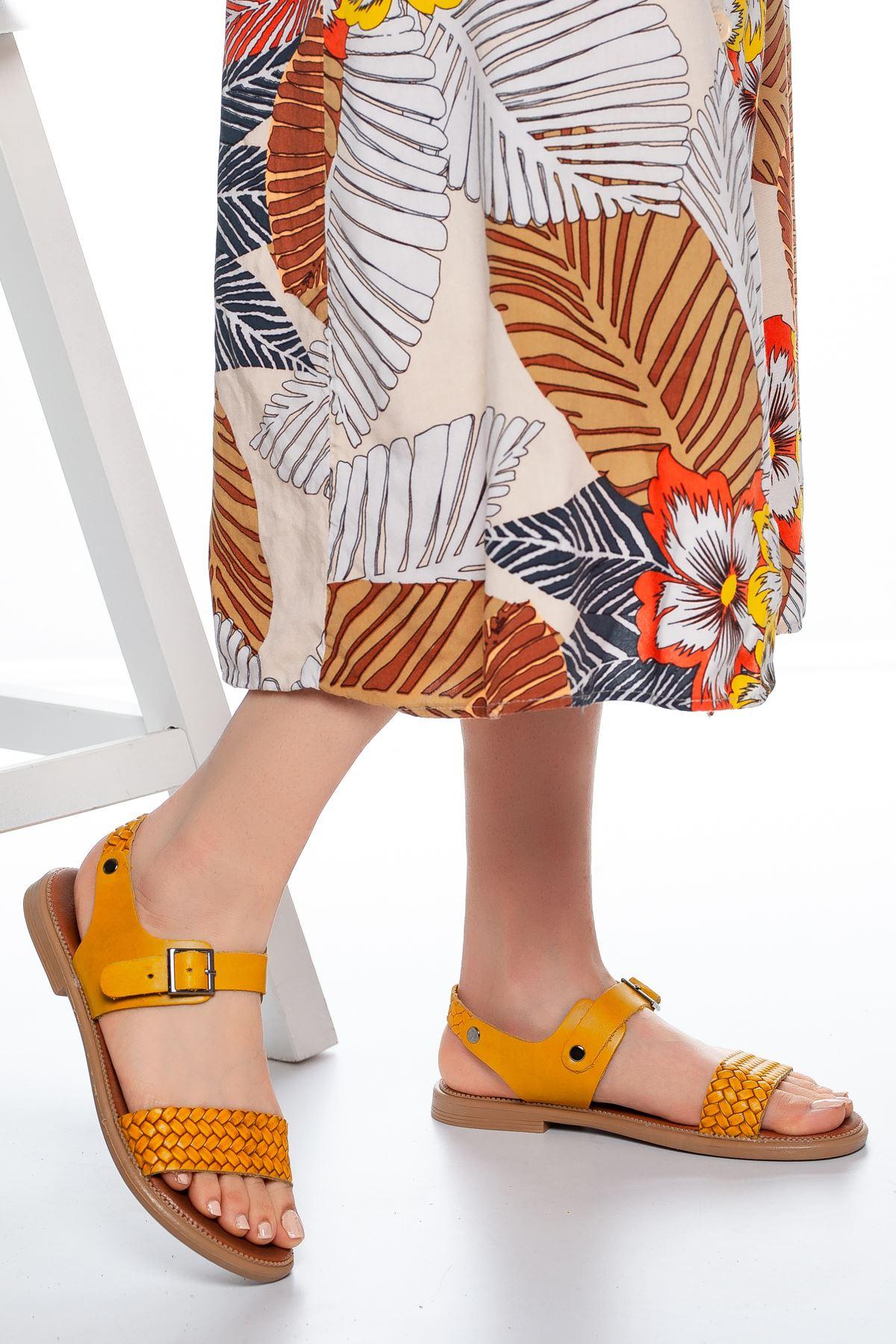 Rowen Sandalet Hardal