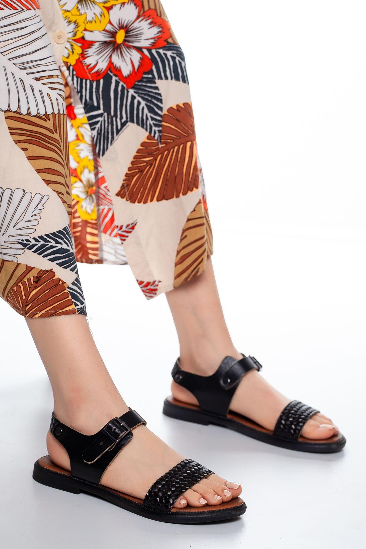 Rowen Sandalet Siyah