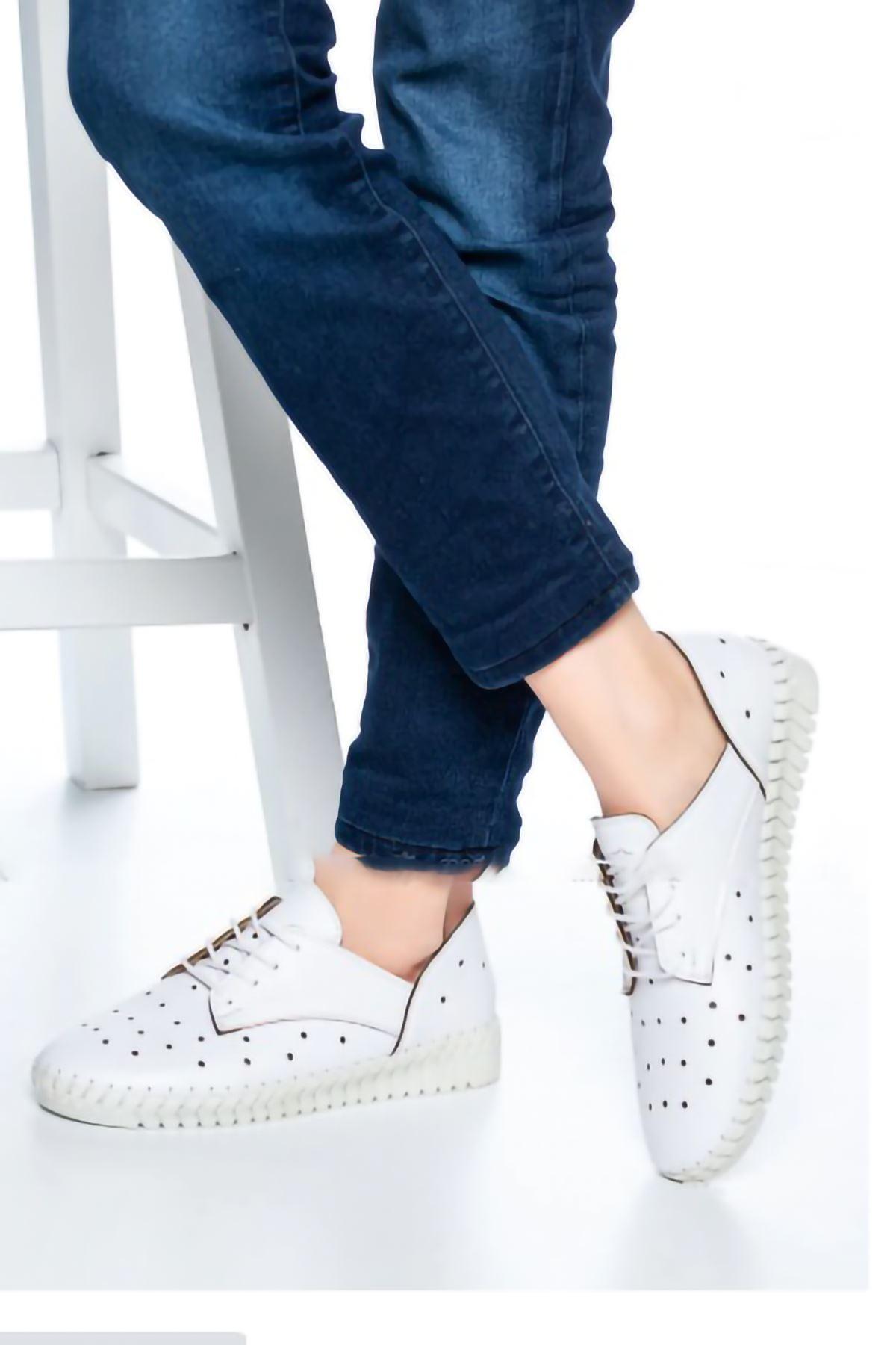 Sindor Günlük Ayakkabı Beyaz
