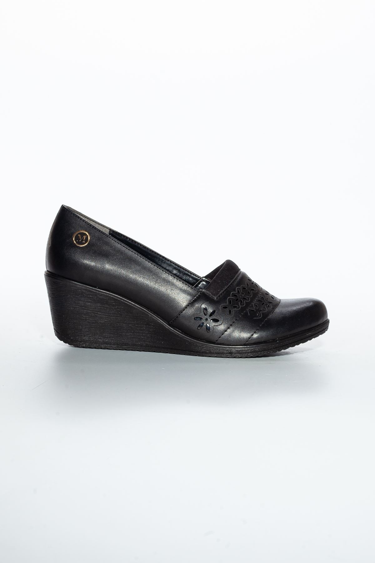 Alba Cilt Ayakkabı Siyah