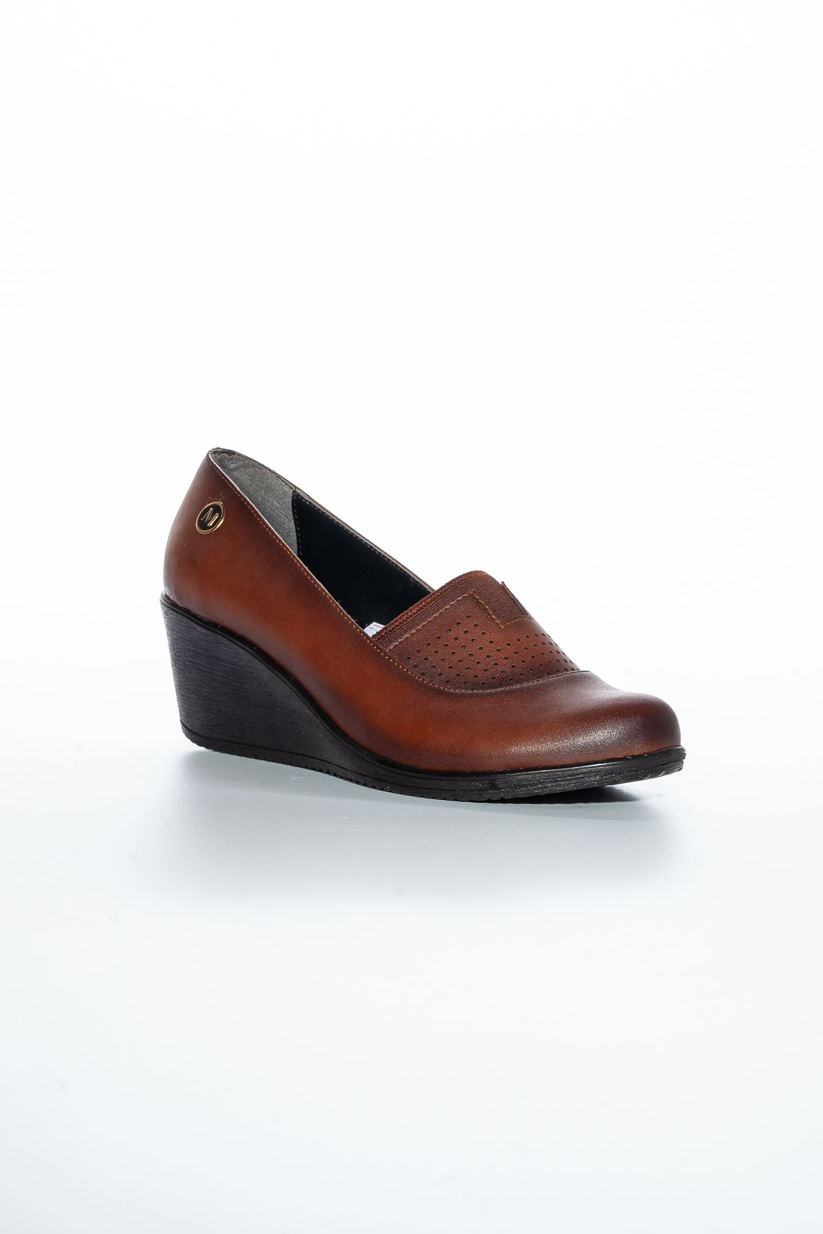 Alka Cilt Ayakkabı Taba