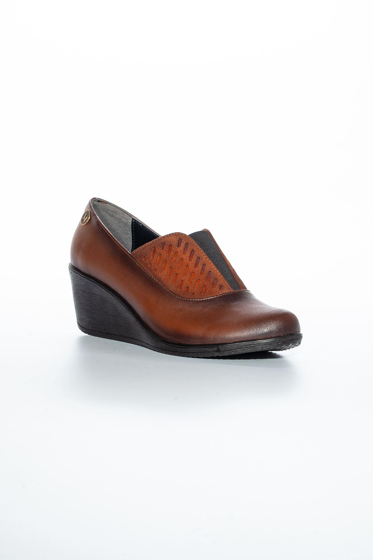 Alda Cilt Ayakkabı Taba