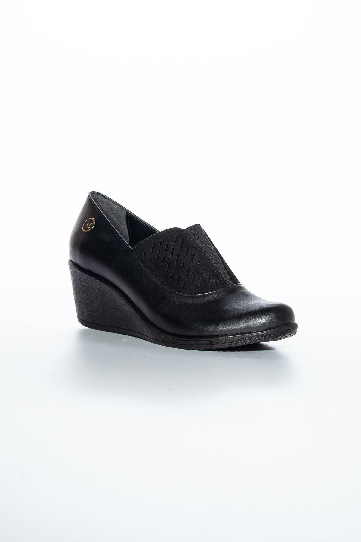 Alda Cilt Ayakkabı Siyah