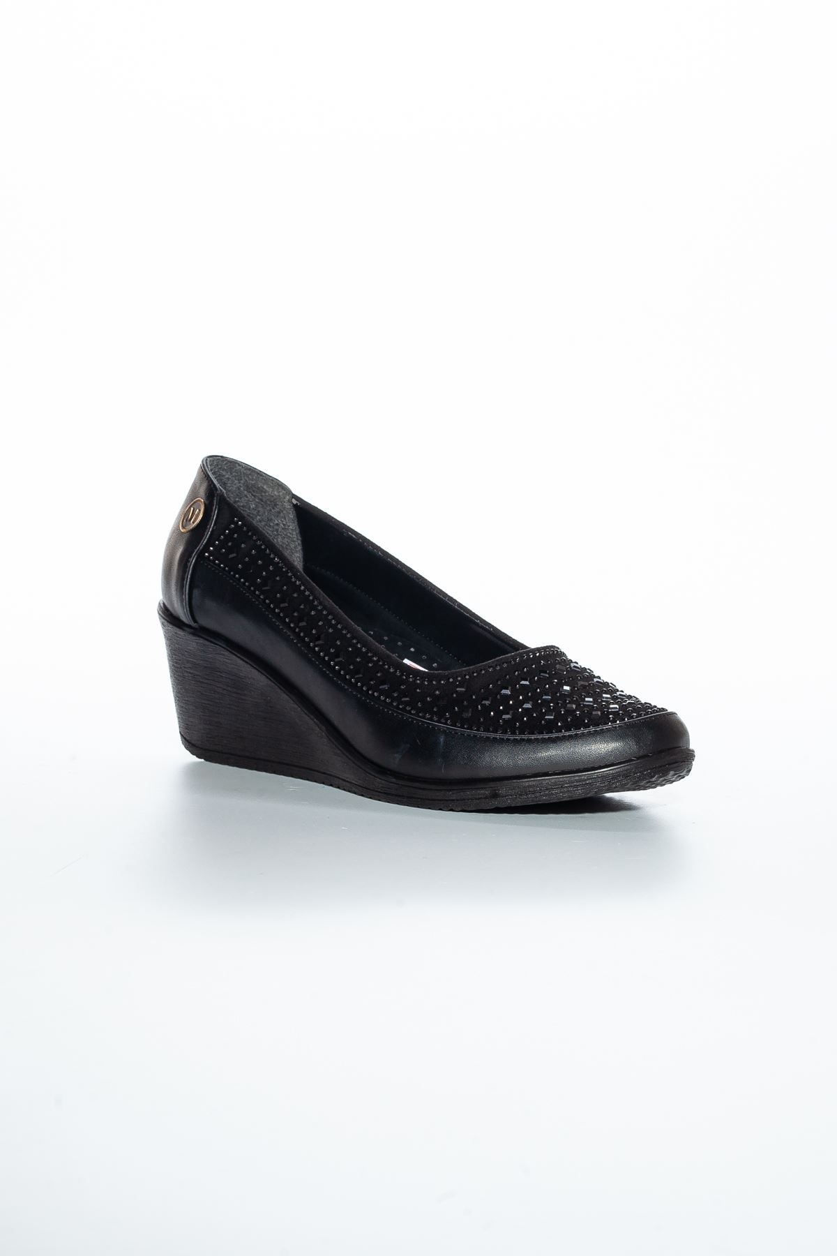 Alza Cilt Ayakkabı Siyah
