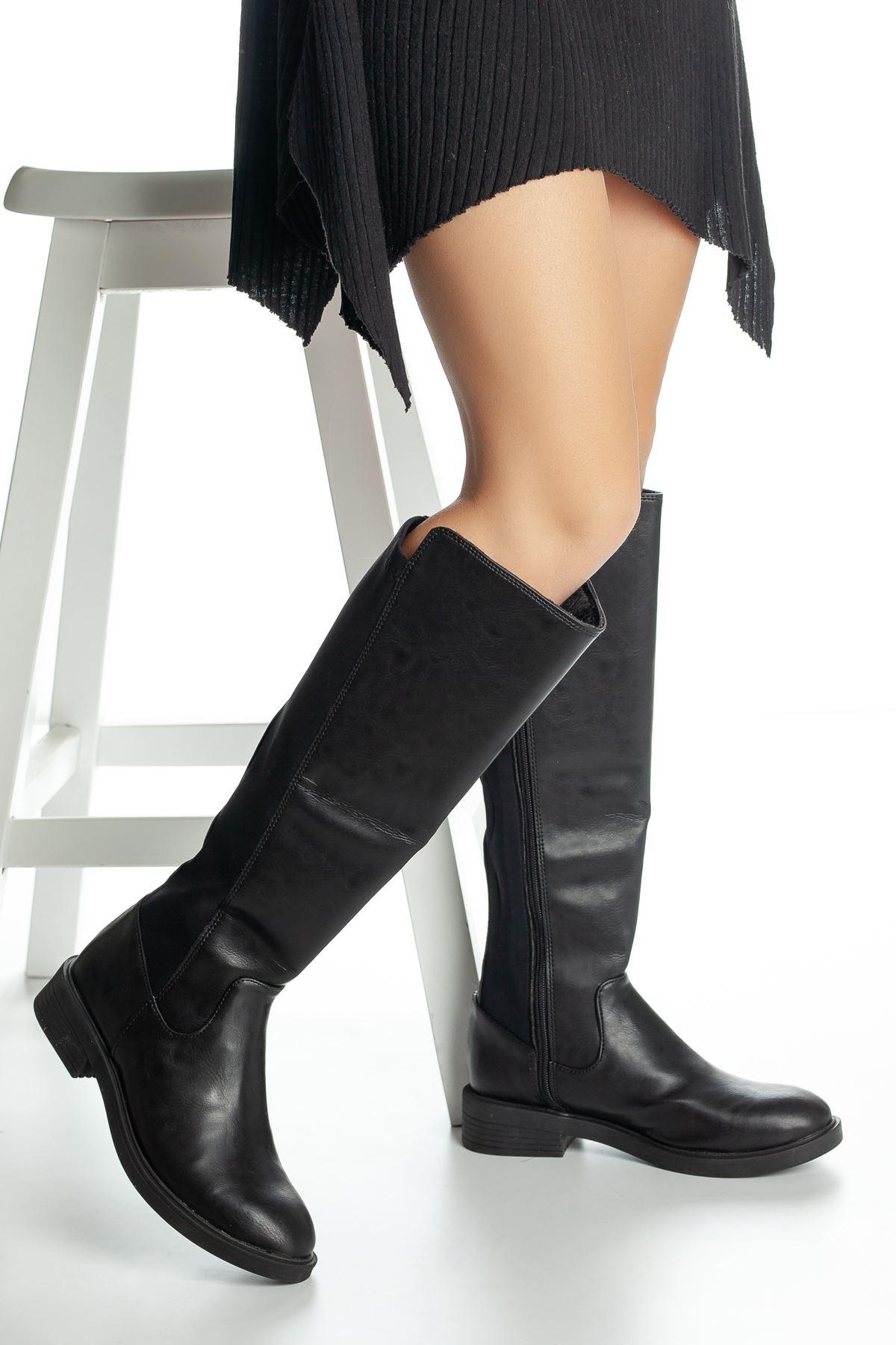 Vensis Cilt Çizme Siyah