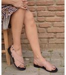 Alana Deri Sandalet Pudra