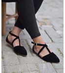 Marjan Günlük Süet Ayakkabı Siyah